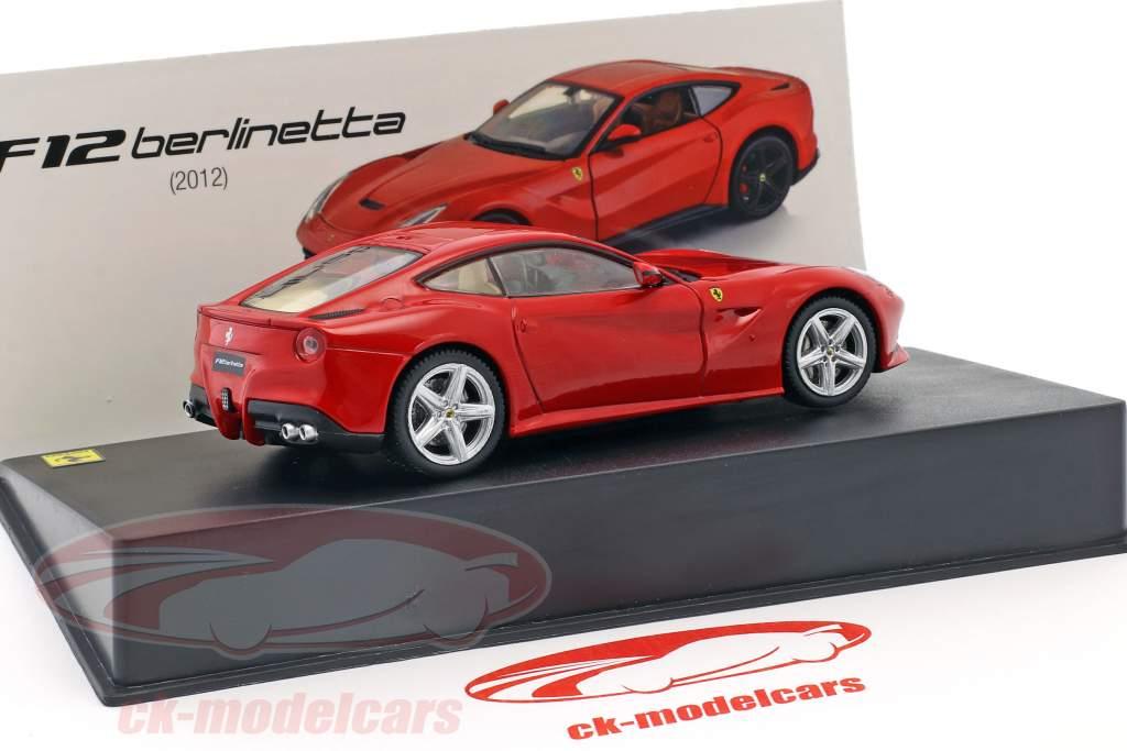 Ferrari F12 Berlinetta year 2012 red 1:43 Altaya