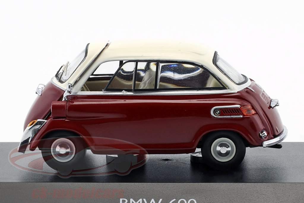BMW 600 rouge / blanc 1:43 Schuco