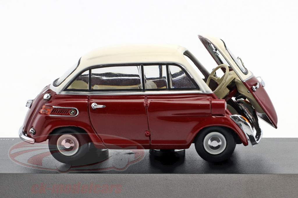 BMW 600 vermelho / branco 1:43 Schuco