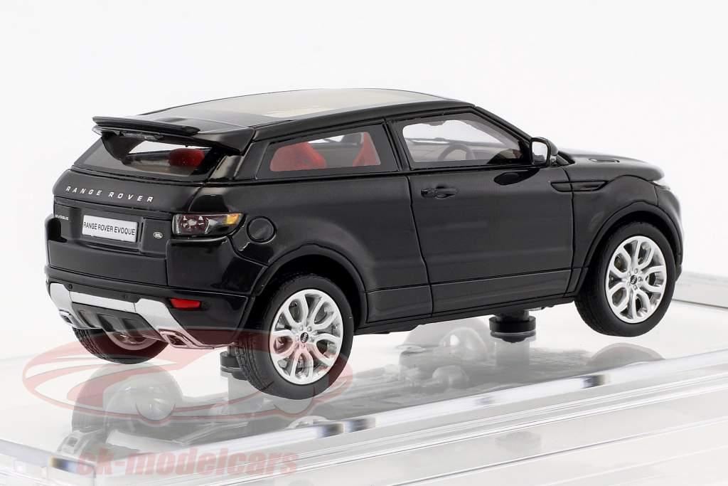 Land Rover Range Rover Evoque ano de construção 2011 santorini preto 1:43 Century Dragon