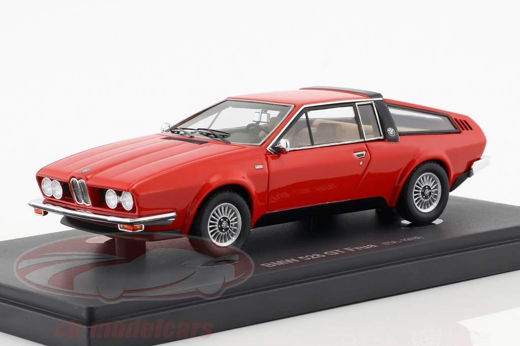 BMW 528 GT Frua año de construcción 1976 rojo 1:43 AutoCult