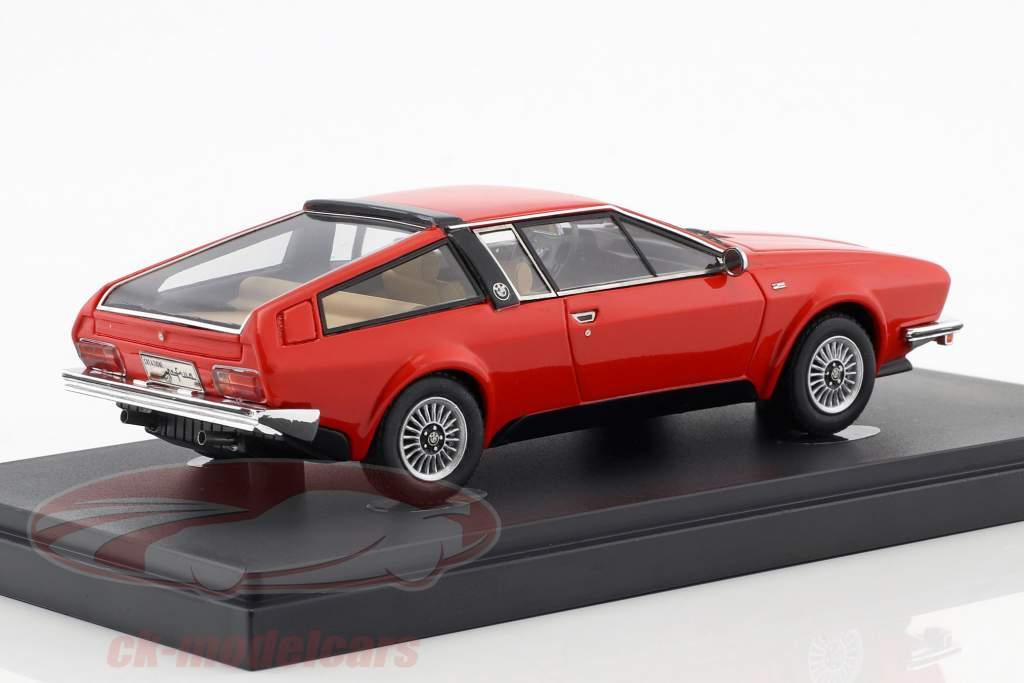 BMW 528 GT Frua Opførselsår 1976 rød 1:43 AutoCult