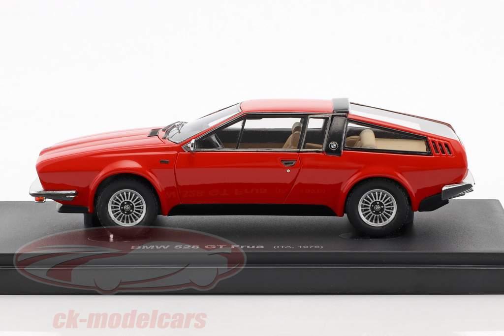 BMW 528 GT Frua year 1976 red 1:43 AutoCult