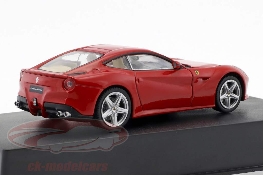Ferrari F12 Berlinetta ano de construção 2012 vermelho 1:43 Altaya