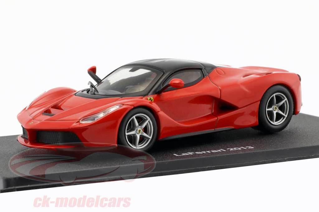 Ferrari LaFerrari année de construction 2013 rouge / noir 1:43 Altaya