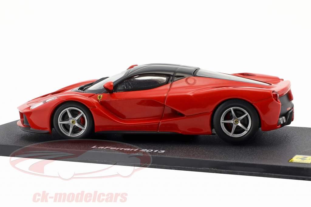 Ferrari LaFerrari ano de construção 2013 vermelho / preto 1:43 Altaya