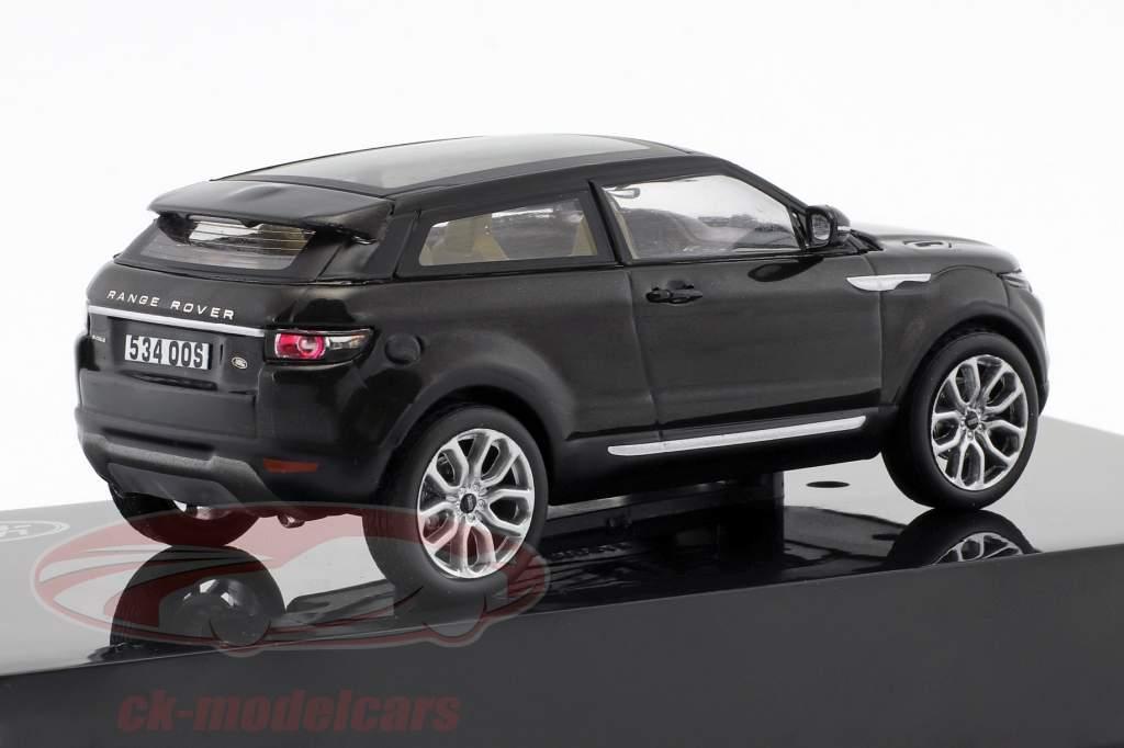 Land Rover Range Rover Evoque anno di costruzione 2011 santorini nero 1:43 Ixo
