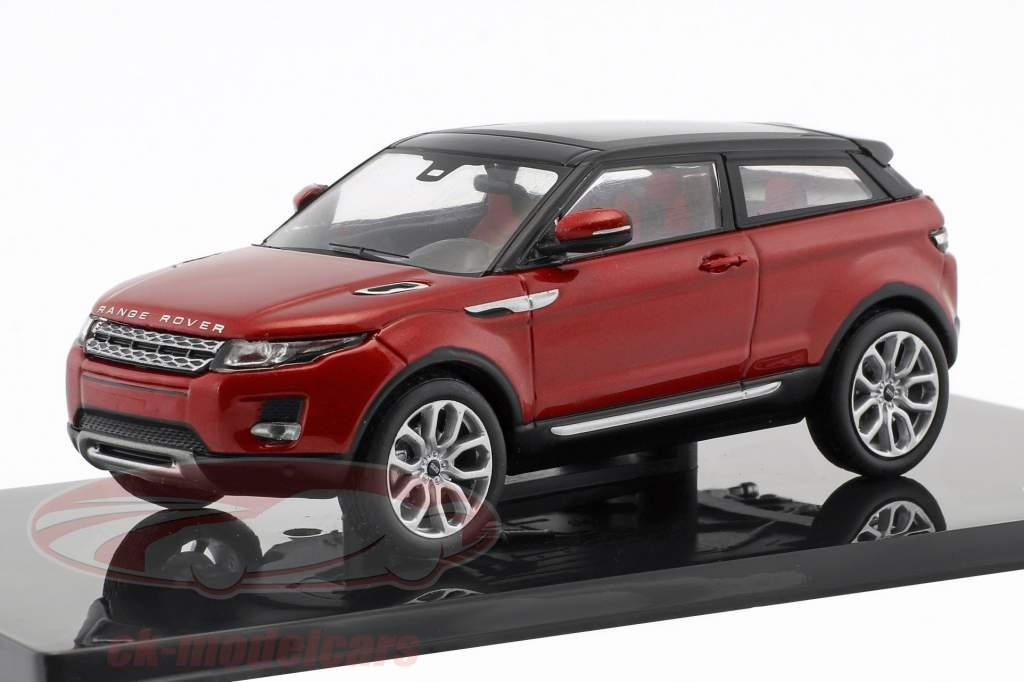 Land Rover Range Rover Evoque Bouwjaar 2011 firenze rood 1:43 Ixo
