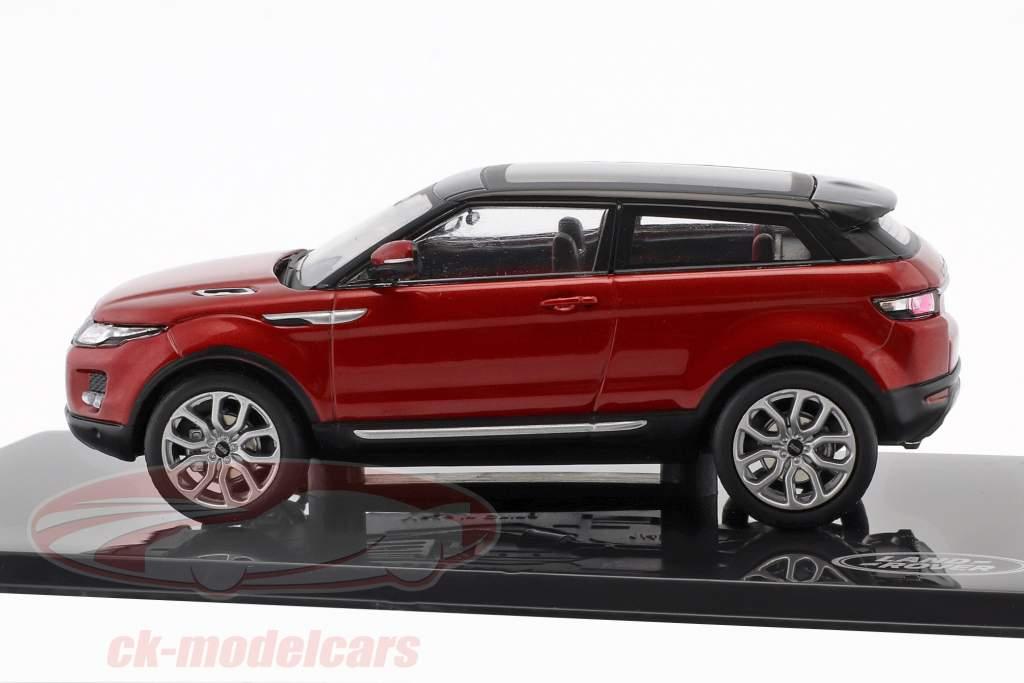 Land Rover Range Rover Evoque anno di costruzione 2011 firenze rosso 1:43 Ixo