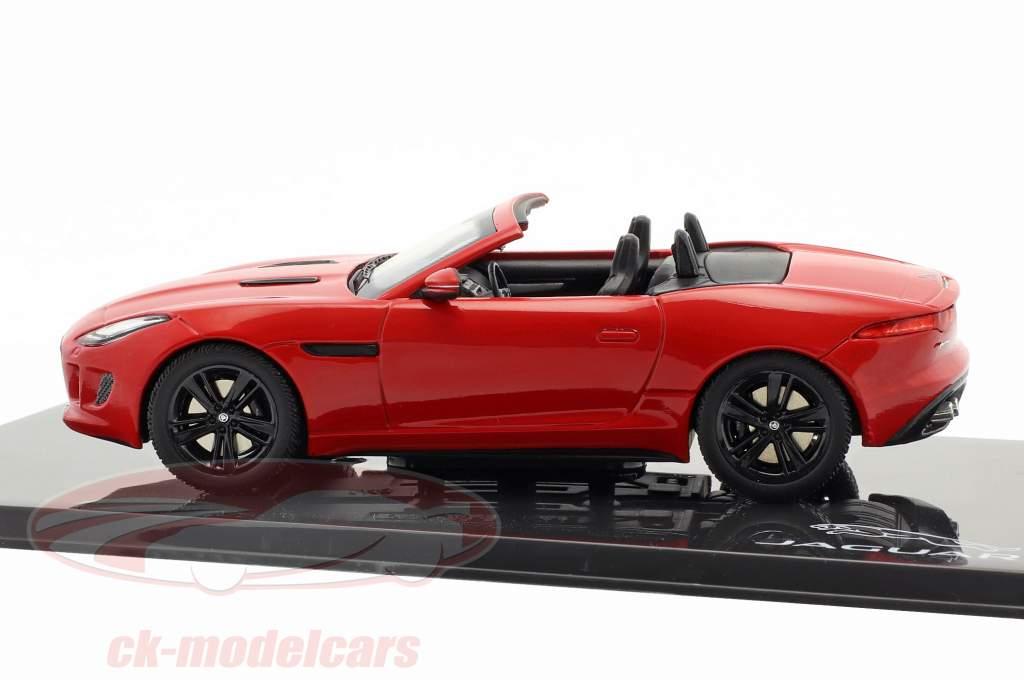 Jaguar F-Type V8-S Cabriolet Baujahr 2013 salsa rot 1:43 Ixo