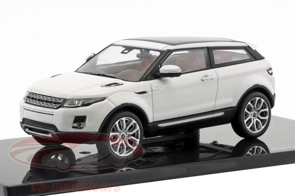 Land Rover Range Rover Evoque year 2011 fuji white 1:43 Ixo