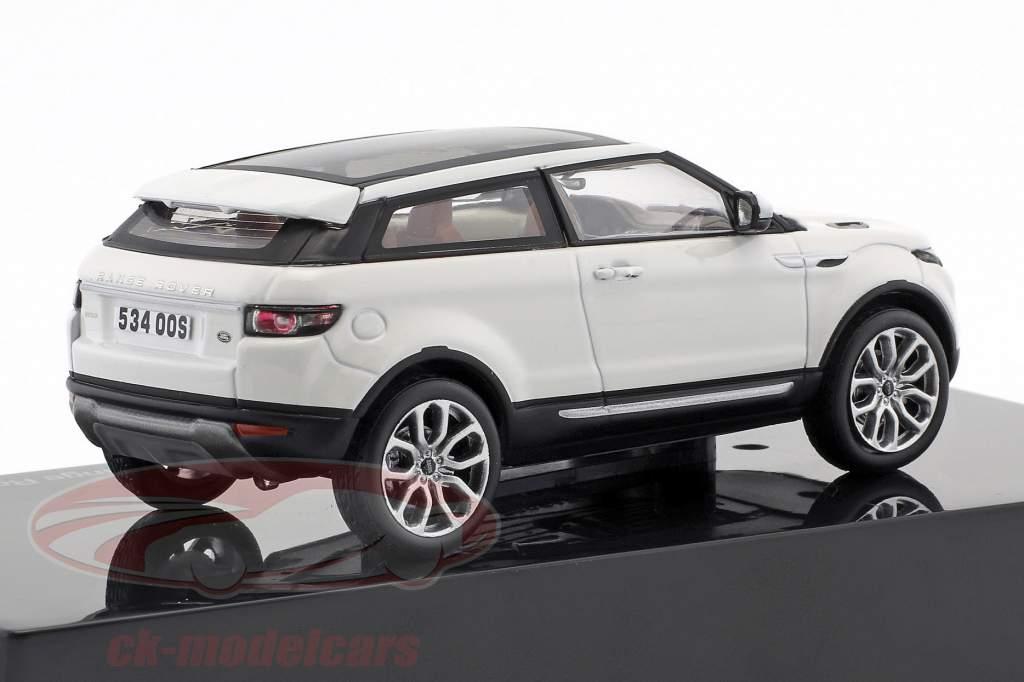 Land Rover Range Rover Evoque Baujahr 2011 fuji weiß 1:43 Ixo