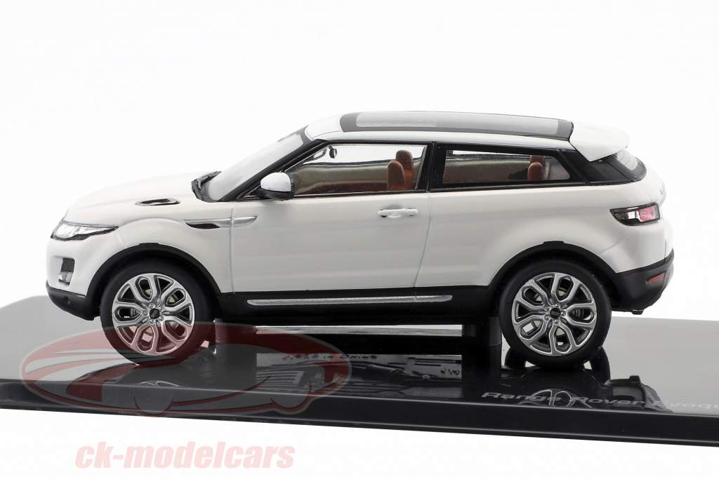 Land Rover Range Rover Evoque année de construction 2011 fuji blanc 1:43 Ixo
