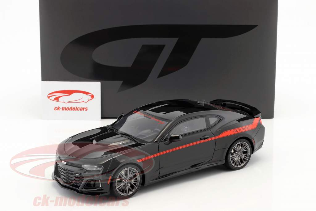 Hennessey Camaro ZL1 The Exorcist année de construction 2017 noir / rouge 1:18 GT-Spirit