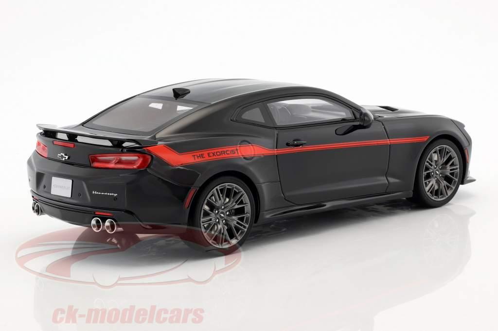 Hennessey Camaro ZL1 The Exorcist Opførselsår 2017 sort / rød 1:18 GT-Spirit
