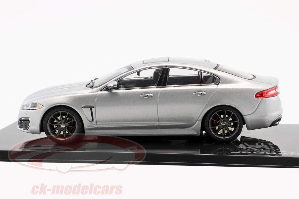 Jaguar XFR rhodium silber 1:43 Ixo