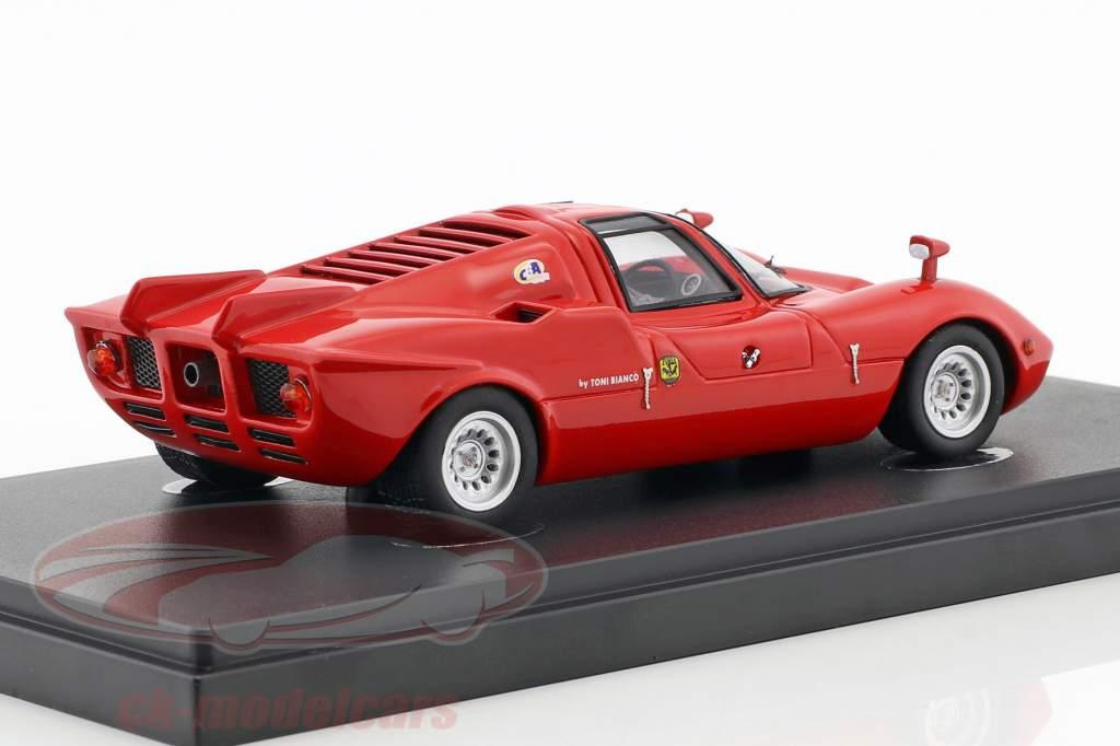 FNM Alfa Romeo Furia GT année de construction 1971 rouge 1:43 AutoCult