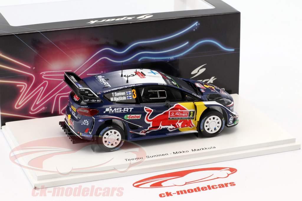 Ford Fiesta WRC #3 3 Rallye Portugal 2018 Suninen, Markkula 1:43 Spark