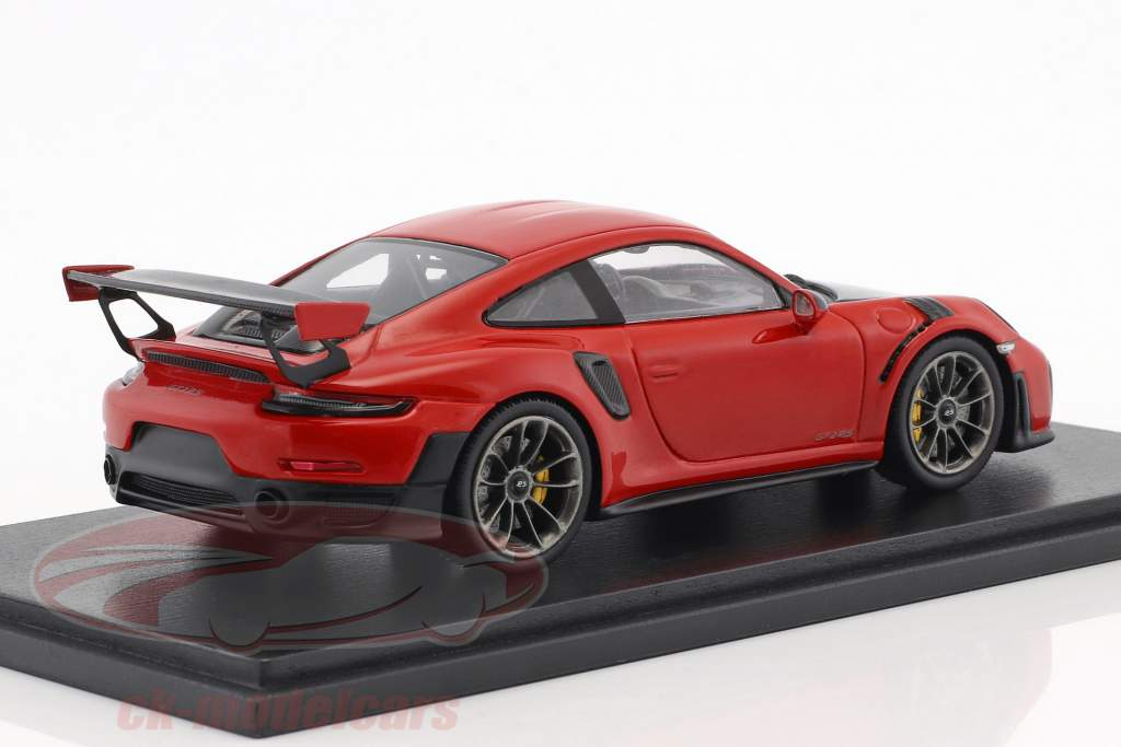 Porsche 911 (991 II) GT2 RS Opførselsår 2018 vagter rød 1:43 Spark