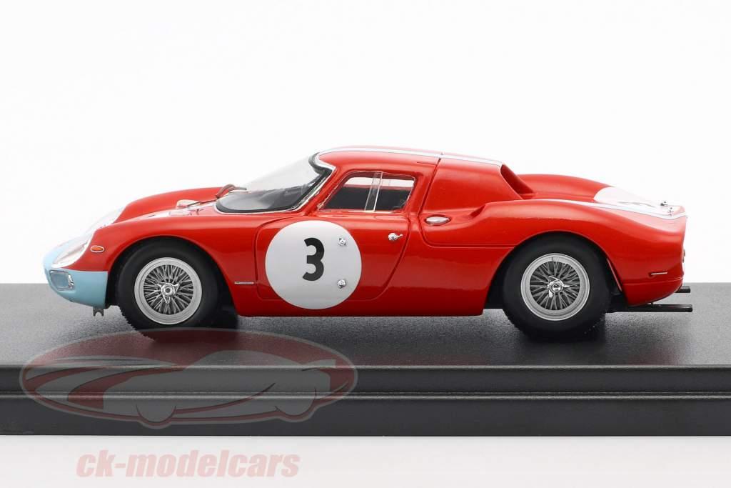 Ferrari 250 LM #3 1000km Paris 1964 Stewart, Scarfiotti 1:43 LookSmart