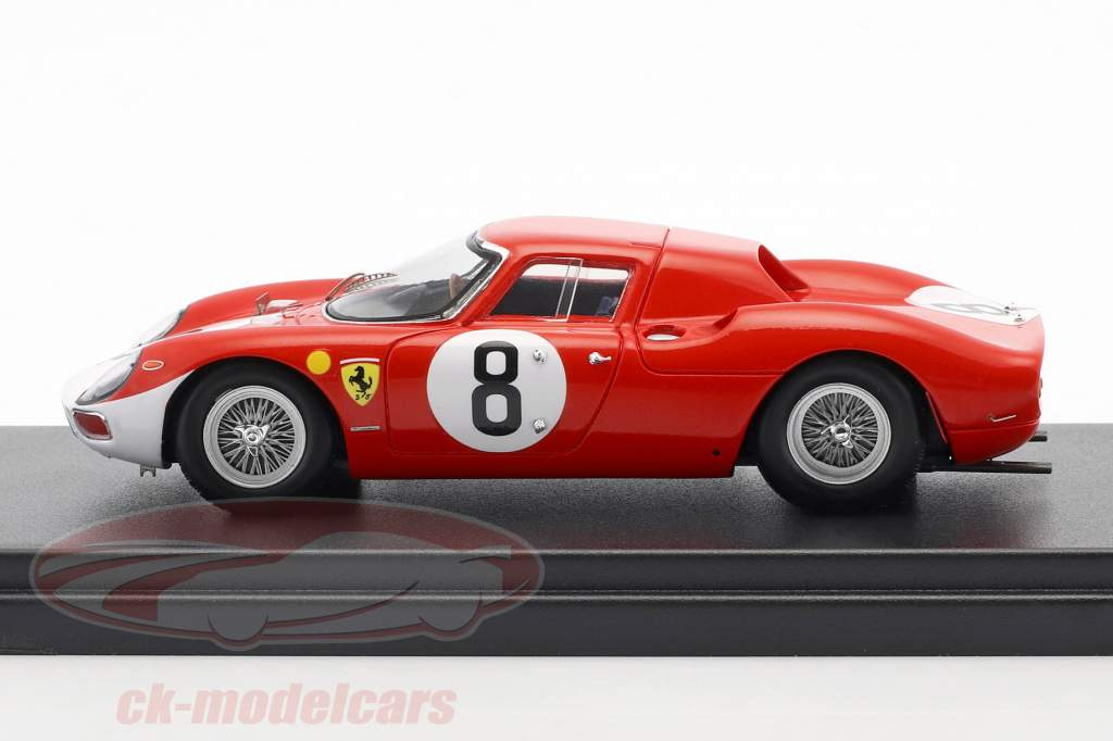 Ferrari 250 LM #8 2º 12h Reims 1964 Surtees, Bandini 1:43 LookSmart