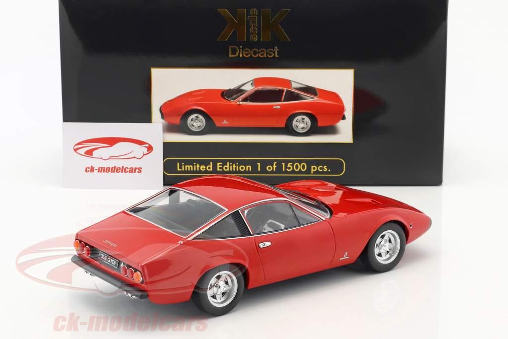 Ferrari 365 GTC/4 Opførselsår 1971 rød 1:18 KK-Scale