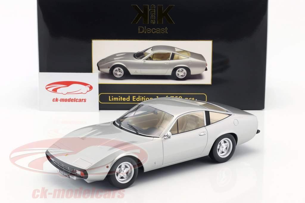 Ferrari 365 GTC/4 année de construction 1971 argent 1:18 KK-Scale