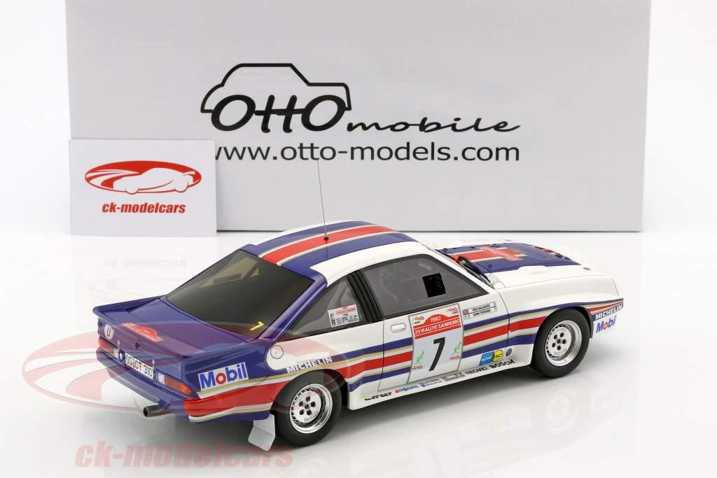 Opel Manta 400R Gr.B #7 4. Rallye SanRemo 1983 Toivonen, Gallagher 1:18 OttOmobile