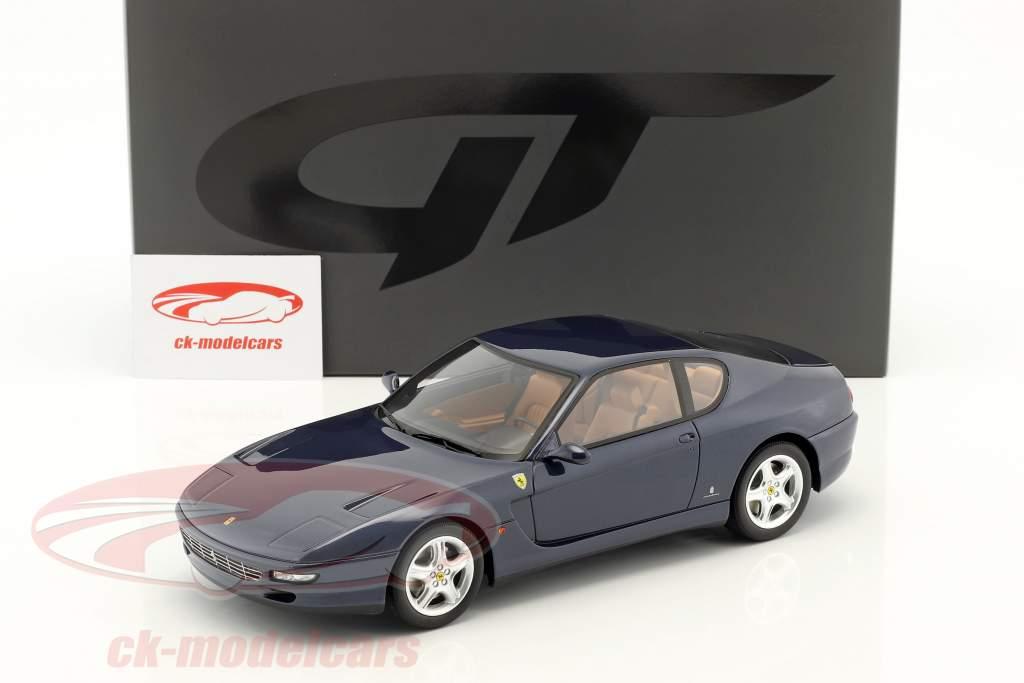 Ferrari 456 GT ano de construção 1992 azul escuro 1:18 GT-Spirit