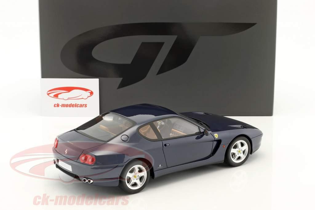 Ferrari 456 GT year 1992 dark blue 1:18 GT-Spirit