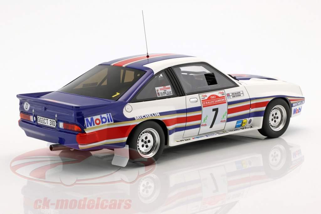 Opel Manta 400R Gr.B #7 4th Rallye SanRemo 1983 Toivonen, Gallagher 1:18 OttOmobile