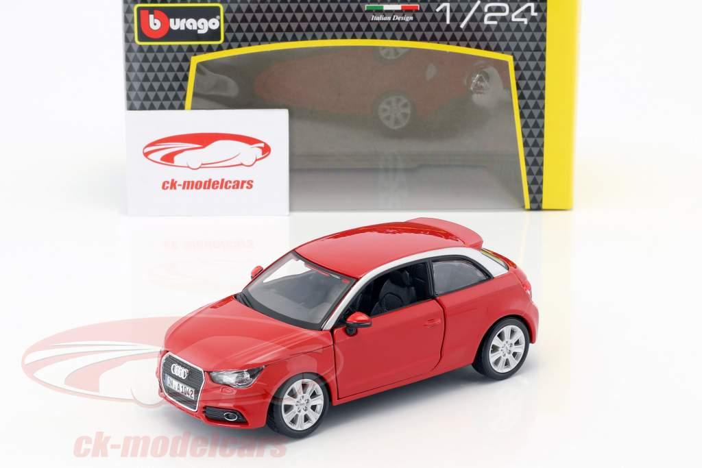Audi A1 (8X) rojo 1:24  Bburago