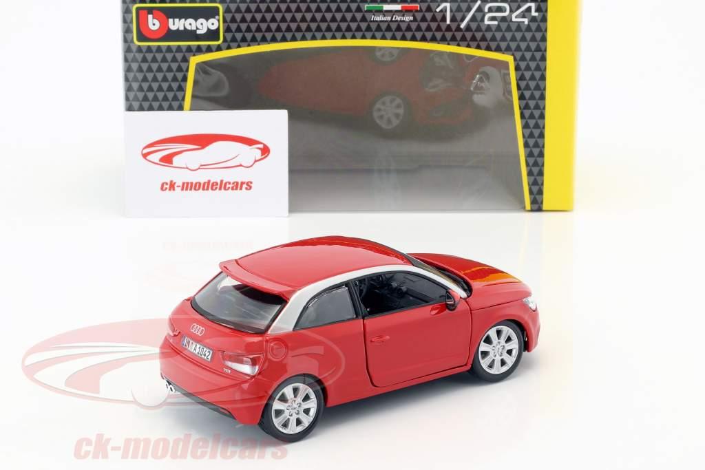 Audi A1 (8X) vermelho 1:24  Bburago