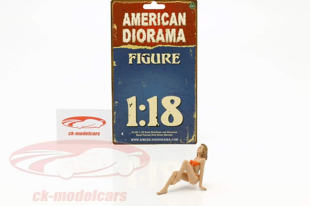 Kalender Girl november i bikini 1:18 American Diorama