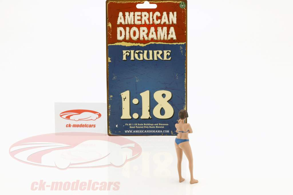 Kalender Girl december i bikini 1:18 American Diorama