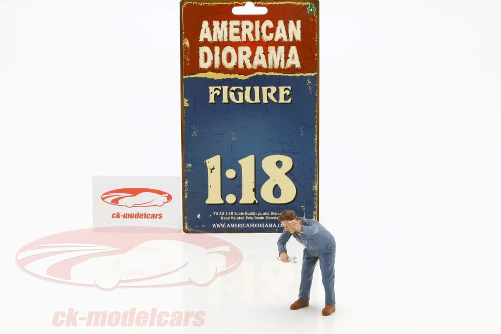 mekaniker Frank figur 1:18 American Diorama