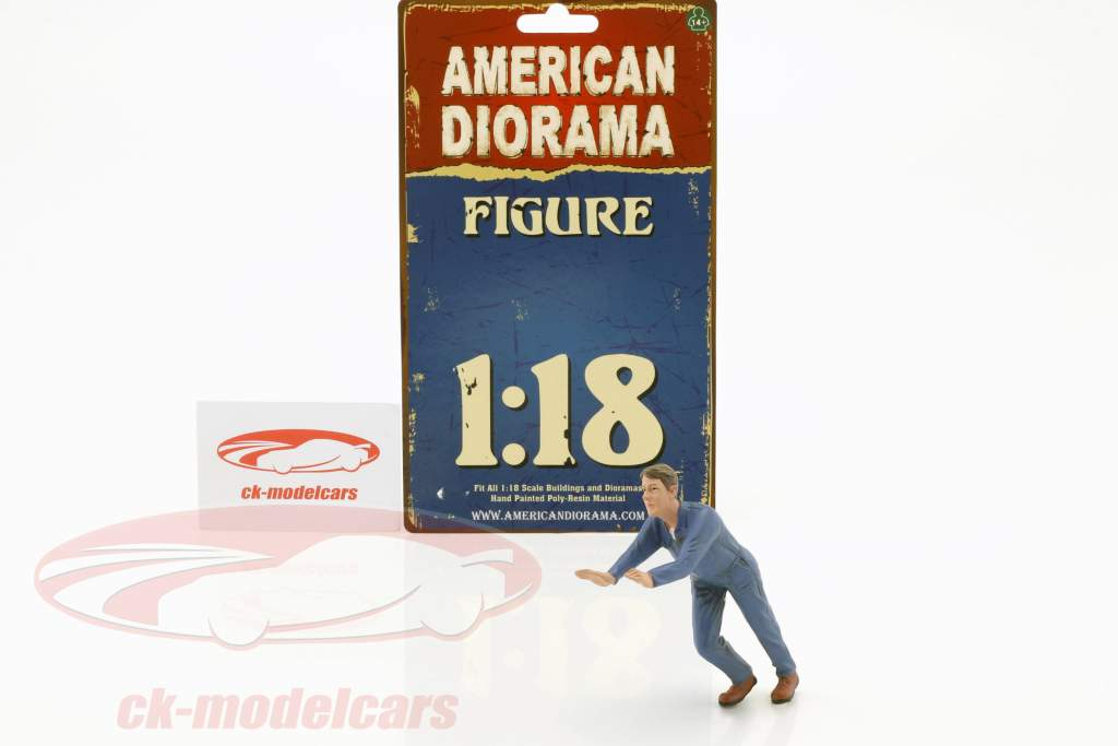 mécanicien Darwin figure 1:18 American Diorama
