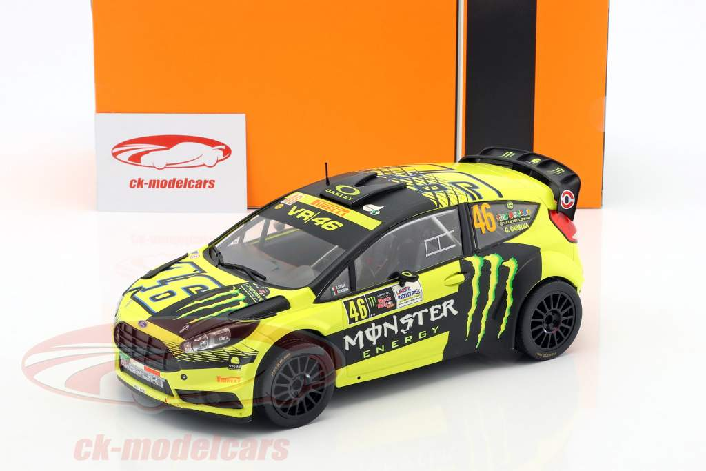 Ford Fiesta RS WRC valentino rosi Monza Rally Show 2015 1:18 Ixo 18rmc015