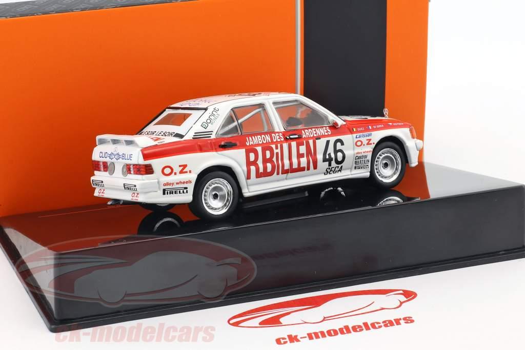 Mercedes-Benz 190E 2.3-16V #46 24h Spa ETCC 1986 di Gioia, Duez, Vojtech 1:43 Ixo