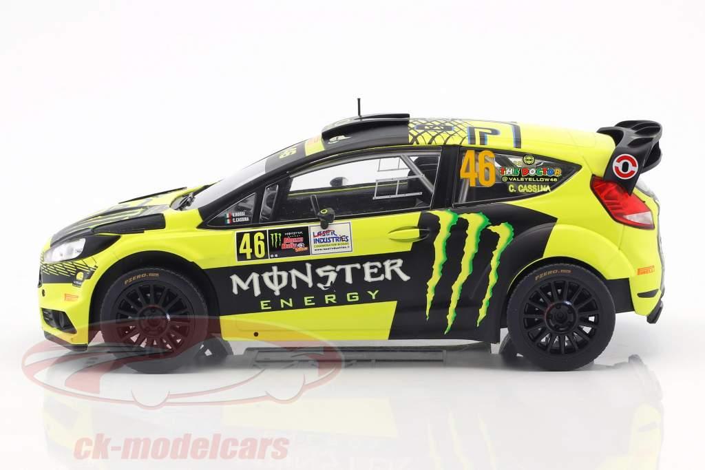 Ford Fiesta RS WRC #46 Winner Monza Rallye Show 2015 Rossi, Cassina 1:18 Ixo