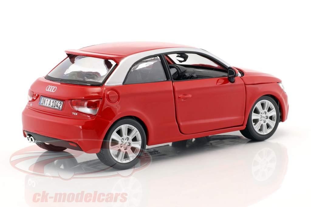 Audi A1 (8X) rot 1:24  Bburago