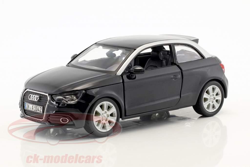 Audi A1 (8X) nero 1:24  Bburago