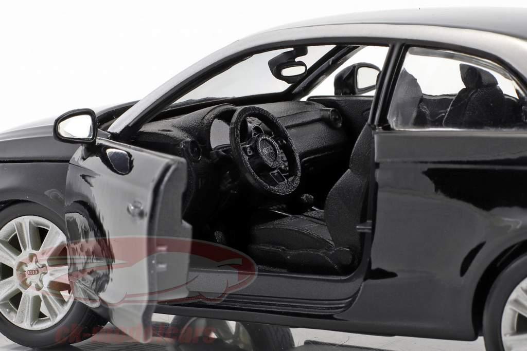 Audi A1 (8X) schwarz 1:24  Bburago