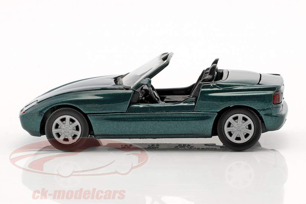 BMW Z1 E30 (Z) Roadster Opførselsår 1989 mørkegrøn metallisk 1:43 Schabak