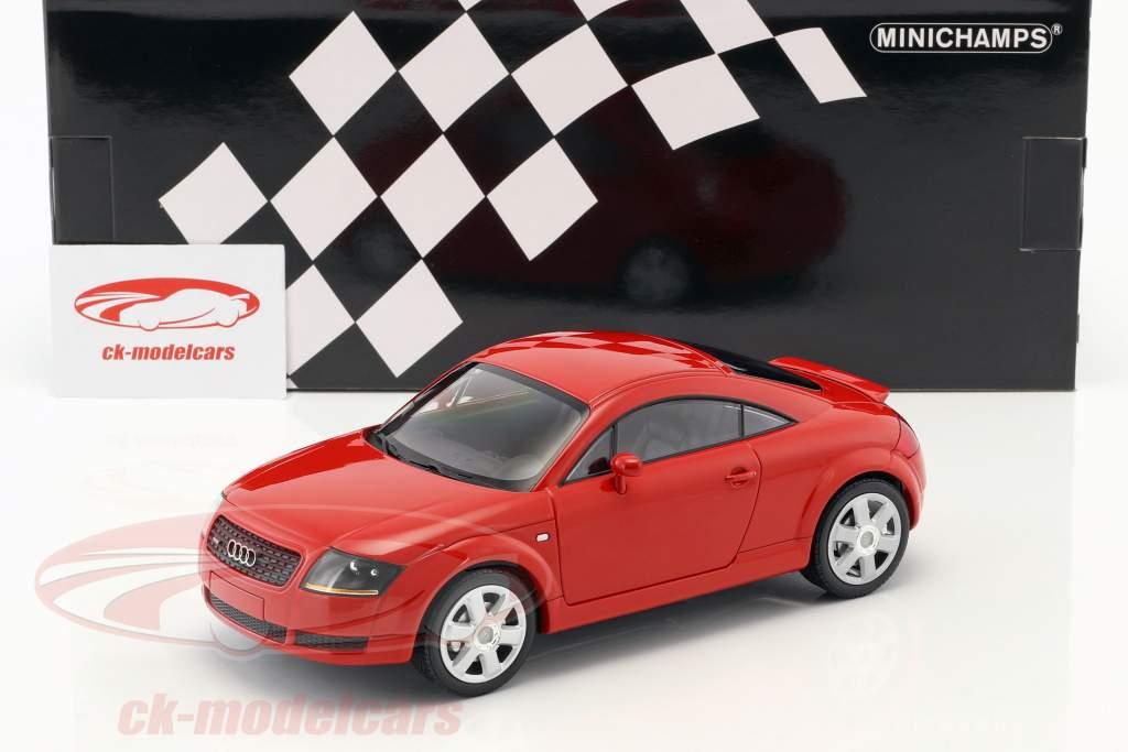 Audi TT (8N) Coupe Opførselsår 1998 rød 1:18 Minichamps