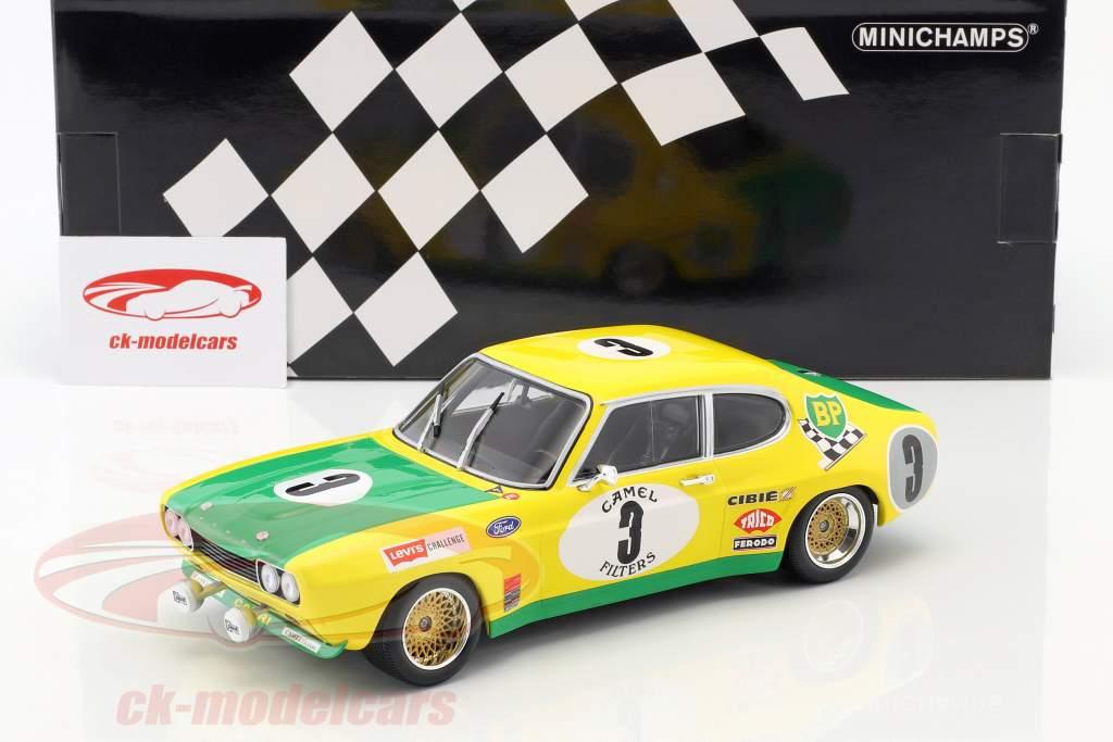 Ford Capri RS 2600 #3 segundo 24h Spa 1972 Birrel, Bourgoignie 1:18 Minichamps
