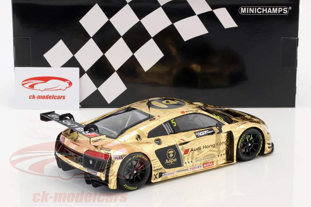 Audi R8 LMS #5 Overall 2nd GT Asia Series 2016 Lee, Thong 1:18 Minichamps