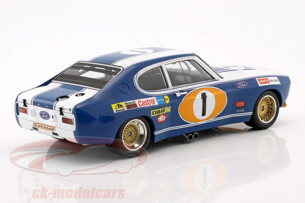 Ford Capri RS 2600 #1 tercero 24h Spa 1972 Glemser, Soler-Roig 1:18 Minichamps
