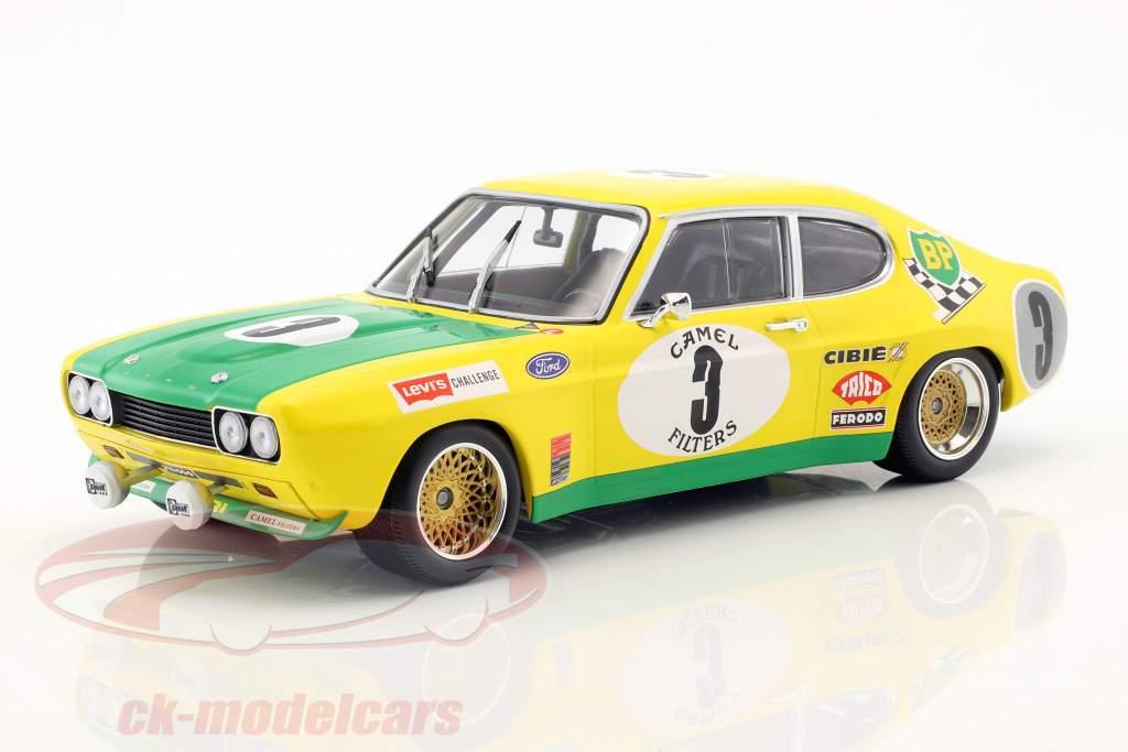 Ford Capri RS 2600 #3 2º 24h Spa 1972 Birrel, Bourgoignie 1:18 Minichamps