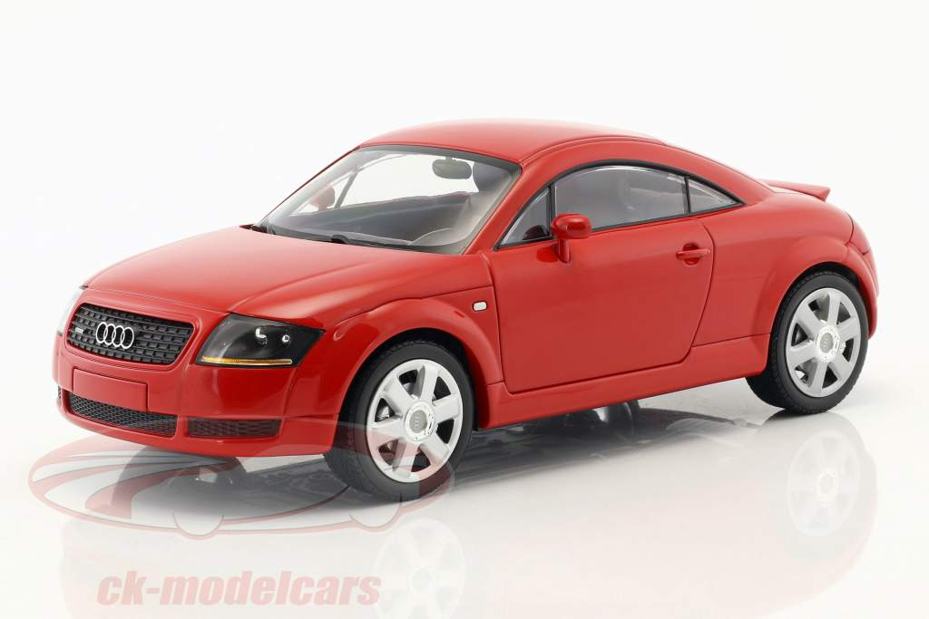 Audi TT (8N) Coupe year 1998 red 1:18 Minichamps